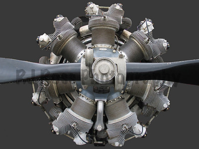 Pratt & Whitney radial aircraft engine