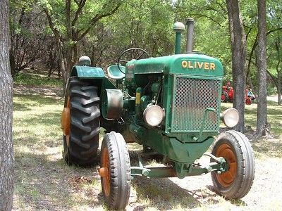 Oliver tractor at Glen Rose, Texas tractor show