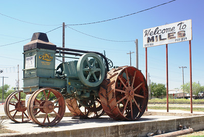 Miles, TX.