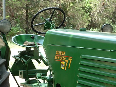Another Oliver tractor at Glen Rose, Texas tractor show