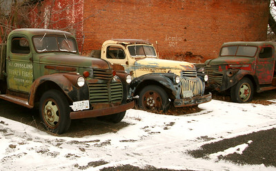 Resting and Rusting