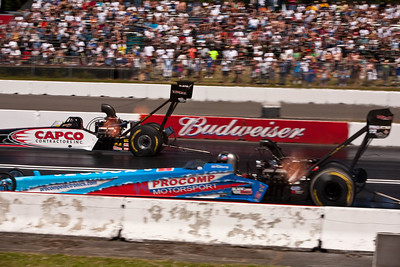 Top Fuel, fast and loud