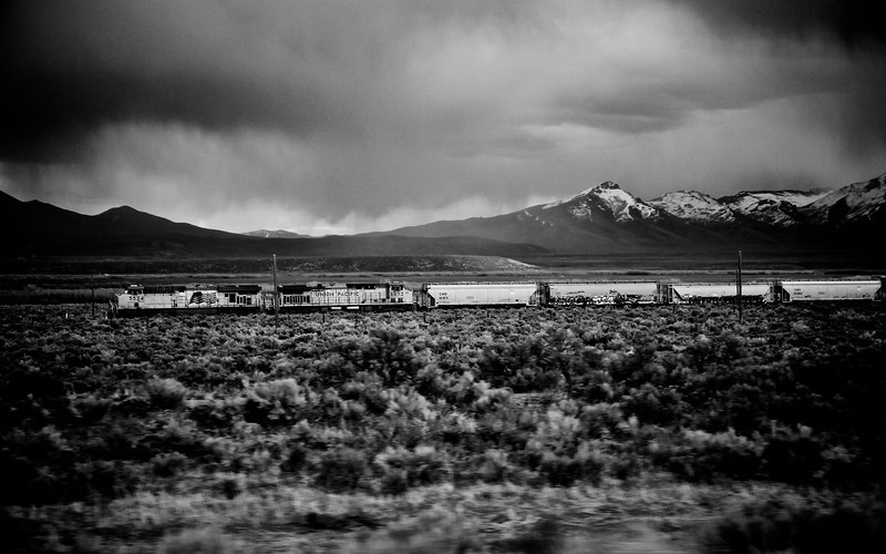 Train in Wyoming