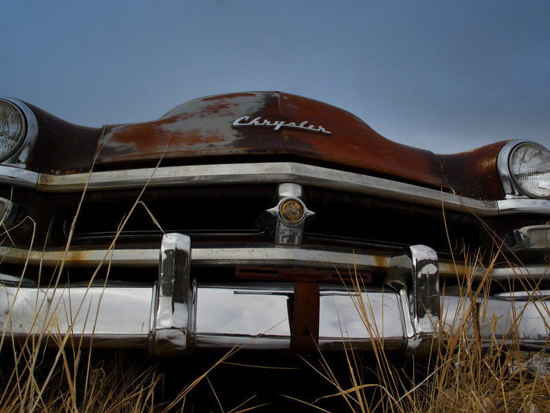 Junkyard in Phillipsburg, MT