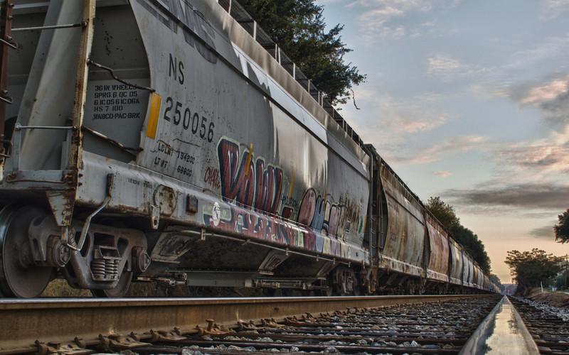 Train in Americus, GA