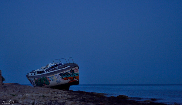 When a wreck becomes a work of art ...... Quand une épave devient une oeuvre d'art...
