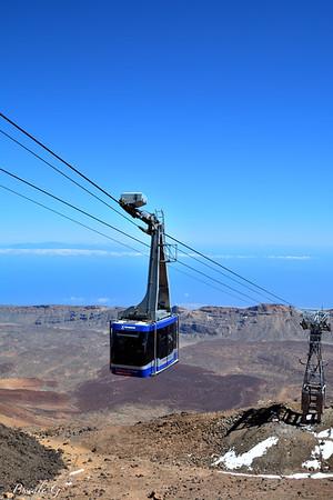 Climbing  El Teide