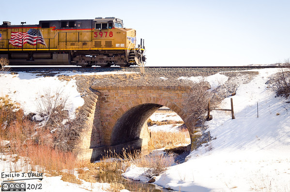 Two 2 Hours Drives - Feb. 2012 - Trains and Trestle