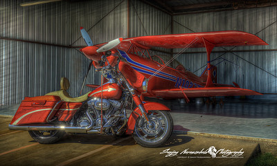 Incredible Flying Machines, Brenham Airport, Texas December 31, 2011
