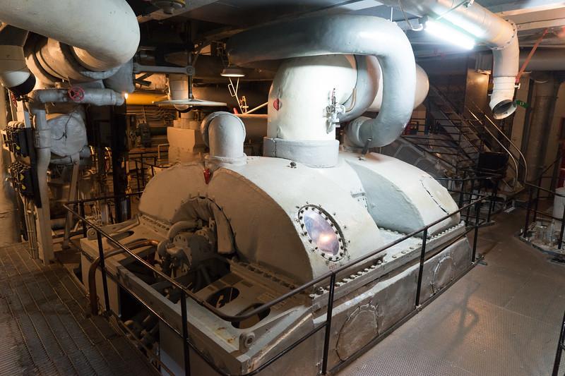 High speed steam turbine