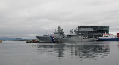 Bateau de la garde côtière islandaise