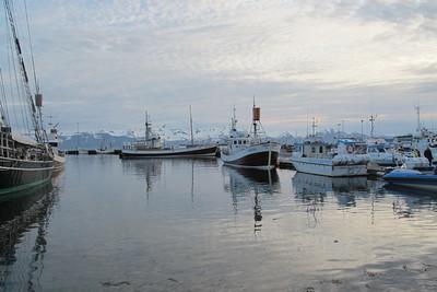 Le port de Húsavik