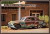 Rostiger Buick Super Oldtimer, Twin Rock, Utah