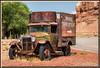 Rostiger Chevy Truck Oldtimer, Twin Rock, Utah