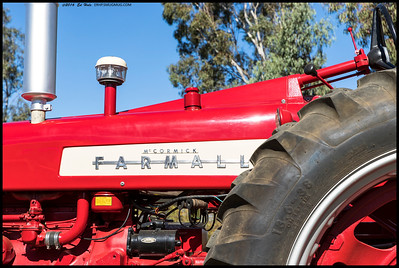 This restored Farmall looks ready to hit the fields.