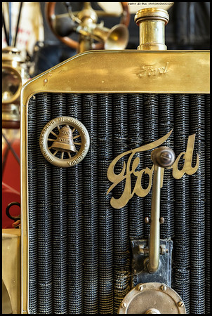 Going back in time with an early Ford.  I often wonder if we wouldn't all be safer on the roads because drivers would have concentrate on driving and have no time for phones.