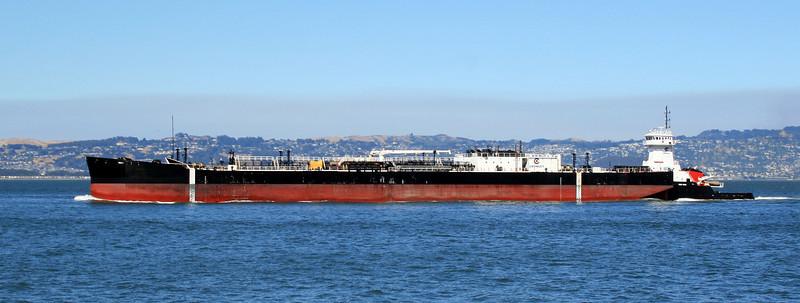 Oil Tanker, San Francisco Bay, 30 Jun 2008.