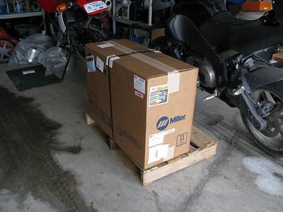 111 pounds as shipped.