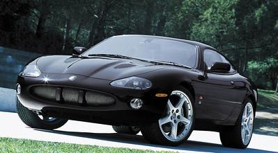 2003 Jaguar XKR Coupe.