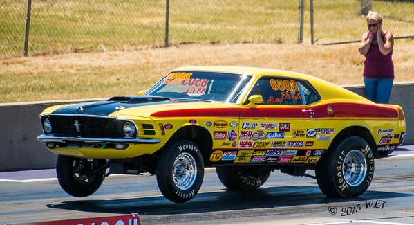 Yellow Mustang, Wheels Up
