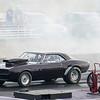 Black Camaro <br /> after smokey burnout