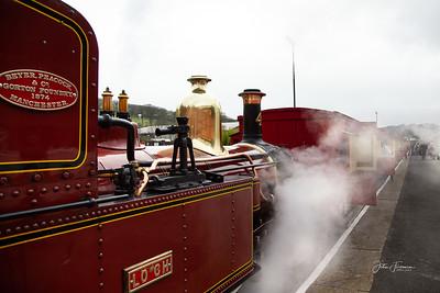 Narrow-guage Steam Railway, Douglas