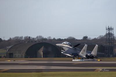 F-15 Eagle, Lakenheath