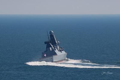 HMS Diamond, Bournemouth