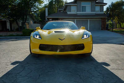 Ray Chin 2017 Grand Sport Corvette Convertible Racing Yellow 460 hp