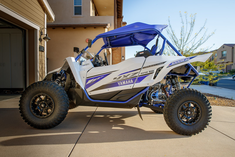 A Aird Yamaha yxz1000R SS, Side-by-Side  3 cylinder, paddle shift 5-speed