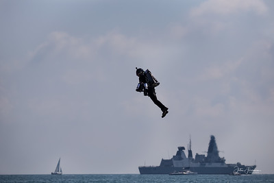 Gravity Industries Jet Suit, Bournemouth