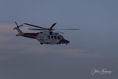 Coastguard AgustaWestland AW189, Bournemouth