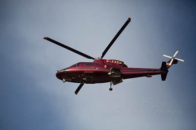 The Royal Household S-76C, Newmarket