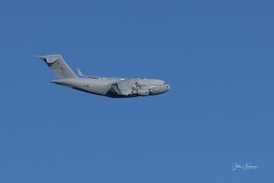 Boeing C-17A Globemaster III, Bournemouth