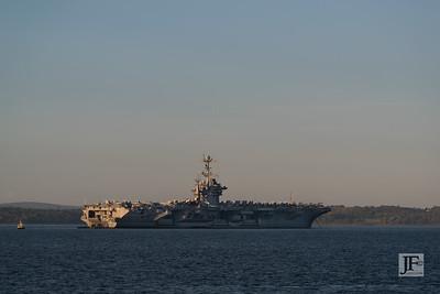 USS Truman, Portsmouth