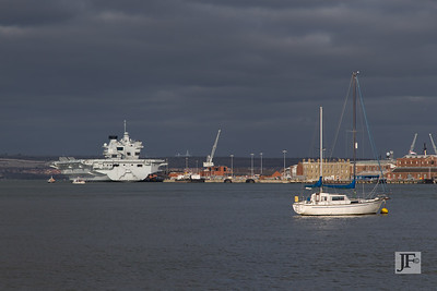 HMS Queen Elizabeth, Portsmouth