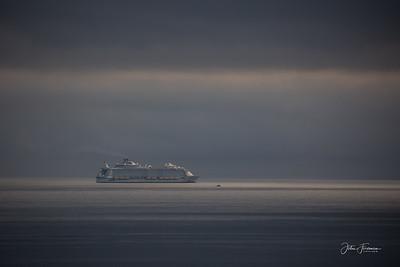 Allure of the Seas, Poole Bay
