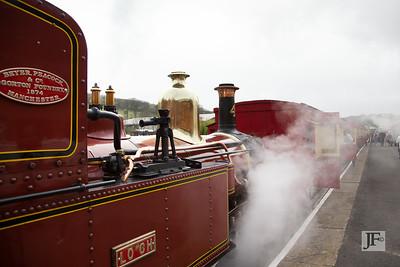 Narrow guage Steam railway, Douglas