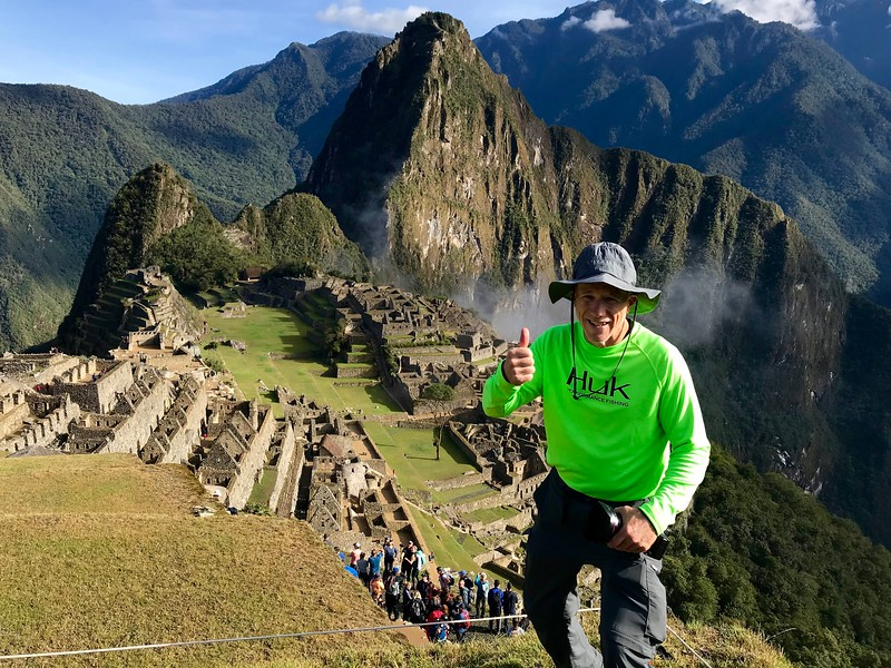 Photographs of Machu Picchu do not do its size and scale justice. This citadel is enormous.