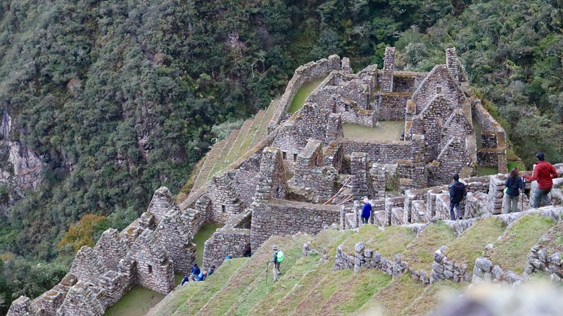 Another site on the Inca Trail, on the way to Machu Picchu.