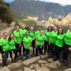 "We are all feeling great. We are all feeling accomplished. Machu Picchu is ""right there"" behind us."