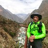 "Day 1. Here I am at Km 82, Llactapata- Ayapata. At this point, I just hope that I have packed everything I need for the four day adventure. My backpack weighs about twenty-two pounds. Water is heavier than one thinks.  To get to this starting place, I had to make reservations for this trip a year in advance. The Peruvian government restricts Inca Trail permits to a small number and they sell-out quickly. I also had to be vaccinated for TDaP, Hep A/B (which is a series of three injections), Yellow Fever, Influenza, and took medication for Malaria. Rabies was suggested, and i respectfully declined. The fight from DFW to Lima, Peru was about eight hours, with a two hour layover, before flying forty minutes on a smaller plane to Cusco. For those that might be considering this trip, the two hour layover in Lima was not enough time. Had I not met an ""angel"" at the ticket counter in Lima, I would have missed my flight to Cusco. The Lima airport is in the stone ages compared to DFW."
