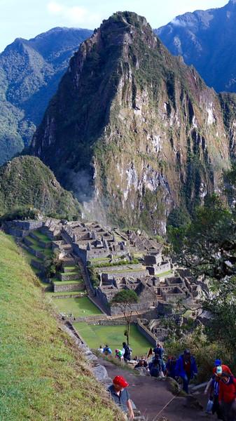 Machu Picchu.