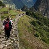 Entering the Machu Picchu complex. Goal achieved.