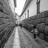 Incan walls in Cusco, Peru