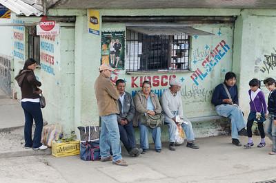 Street shots of Ecuador