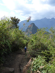 Machu Picchu Mountain trail