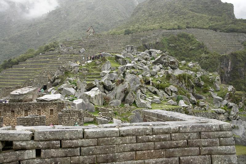 Andesite quarry.