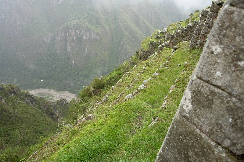 Every square foot is used for the farming terraces.