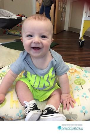 6 Months old Mack Payne 4/23/18